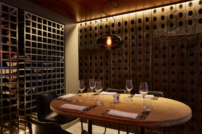 Private Dining Rooms - Bandol Restaurant - Chelsea, London